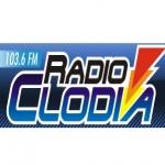 Logo da emissora Clodia 103.6 FM