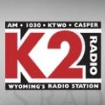 Logo da emissora KTWO 1030 AM