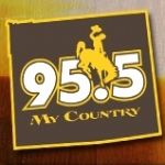 Logo da emissora KWYY 95.5 FM