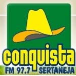 Logo da emissora R�dio Conquista 97.7 FM
