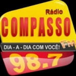 Logo da emissora Rádio Compasso 98.7 FM