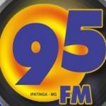 Logo da emissora R�dio 95 FM
