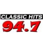 Logo da emissora KCLH 94.7 FM CLASSIC HITS