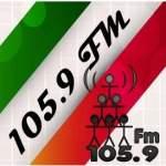 Logo da emissora Rádio Comunitária 105.9 FM