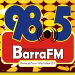 Logo da emissora R�dio Comunit�ria Barra 98.5 FM