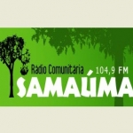 Logo da emissora R�dio Comunit�ria Sama�ma 104.9 FM