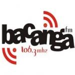 Logo da emissora Rádio Comunitária Bacanga 106.3 FM