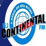 Logo da emissora R�dio Continental 95.3 FM