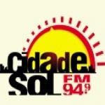 Logo da emissora R�dio Cidade Sol 94.9 FM