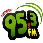 Logo da emissora R�dio Coqueiros 95.3 FM