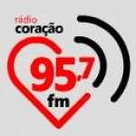 Logo da emissora R�dio Cora��o 95.7 FM