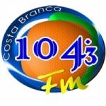 Logo da emissora R�dio Costa Branca 104.3 FM
