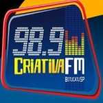 Logo da emissora R�dio Criativa 98.9 FM
