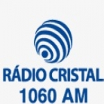Logo da emissora Rádio Cristal 1060 AM