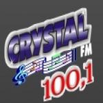 Logo da emissora Rádio Crystal 100.1 FM