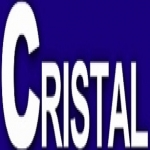 Logo da emissora Rádio Cristal 105 FM