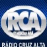 Logo da emissora Rádio Cruz Alta 1140 AM