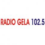 Logo da emissora Gela 102.5 FM