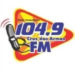 Logo da emissora Rádio Cruz das Armas 104.9 FM