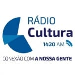 Logo da emissora Rádio Cultura 1420 AM