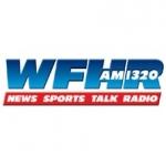 Logo da emissora WFHR 1320 AM