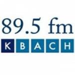 Logo da emissora KBACH 89.5 FM