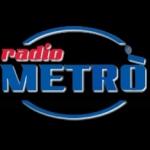 Logo da emissora Metro 107.8 FM