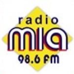 Logo da emissora Mia 98.6 FM