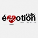 Logo da emissora Emotion 105.3 FM