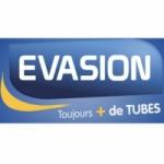 Logo da emissora Evasion 88.8 FM