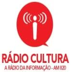 Logo da emissora R�dio Cultura 820 AM