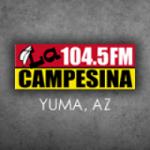 Logo da emissora KCEC 104.5 FM