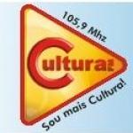Logo da emissora Rádio Cultura 105.9 FM