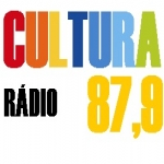 Logo da emissora Rádio Cultura 87.9 FM