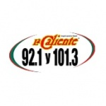 Logo da emissora KCMT 92.1 FM La Caliente