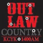 Logo da emissora KCYK 1400 AM