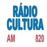 Logo da emissora Rádio Cultura 820 AM