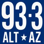 Logo da emissora 93.3 FM ALT AZ