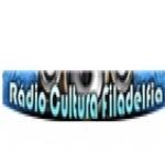 Logo da emissora R�dio Cultura Filad�lfia 6105 OC 49m