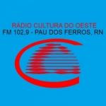 Logo da emissora Rádio Cultura do Oeste 102.9 FM