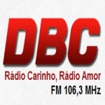 Logo da emissora Rádio DBC 106.3 FM