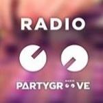 Logo da emissora Party Groove 99.0 FM