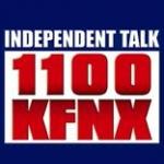 Logo da emissora KFNX 1100 AM