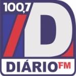 Logo da emissora R�dio Di�rio 100.7 FM