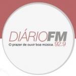 Logo da emissora R�dio Di�rio 92.9 FM