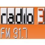 Logo da emissora 3 Network 100.1 FM