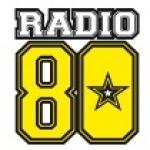 Logo da emissora Radio 80 102.7 FM