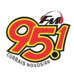 Logo da emissora Rádio 95.1 FM