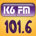 Logo da emissora K6 101.6 FM