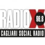 Logo da emissora Radio X 96.8 FM